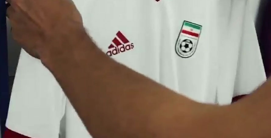 6add87877 The Iran 2018 World Cup home shirt was revealed by FIFA today. Made by  Adidas