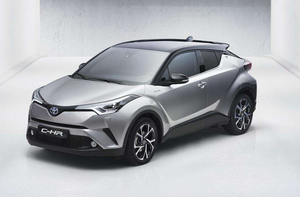 Đánh giá xe Toyota C-HR 2017
