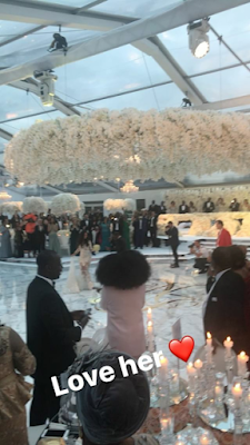 Billionaire Folorunsho Alakija's son Folarin married his woman, Naza, in a lavish wedding in England (photos)
