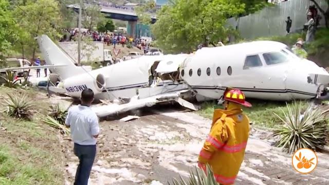 Milagro: Avión que trasladaba misioneros cristiano se estrallá y nadie salió herido-VIDEO