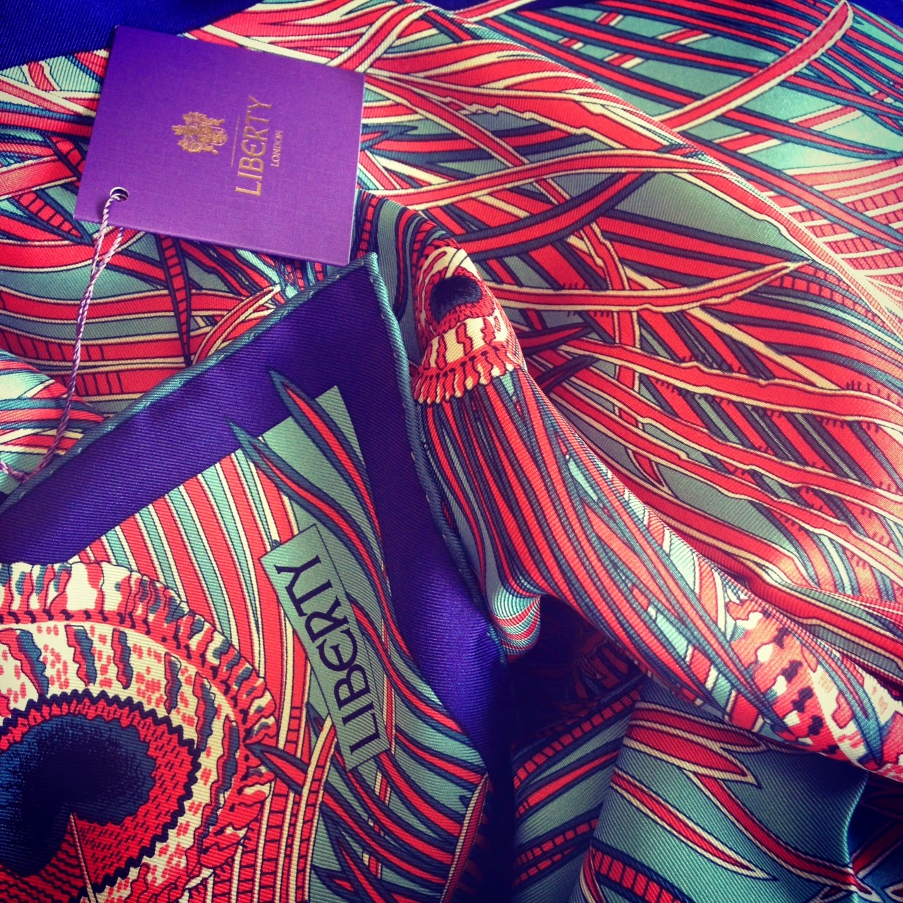 6f84160eb9ca1 In Which My Dream of Owning A Liberty London Silk Scarf Is Realized ...