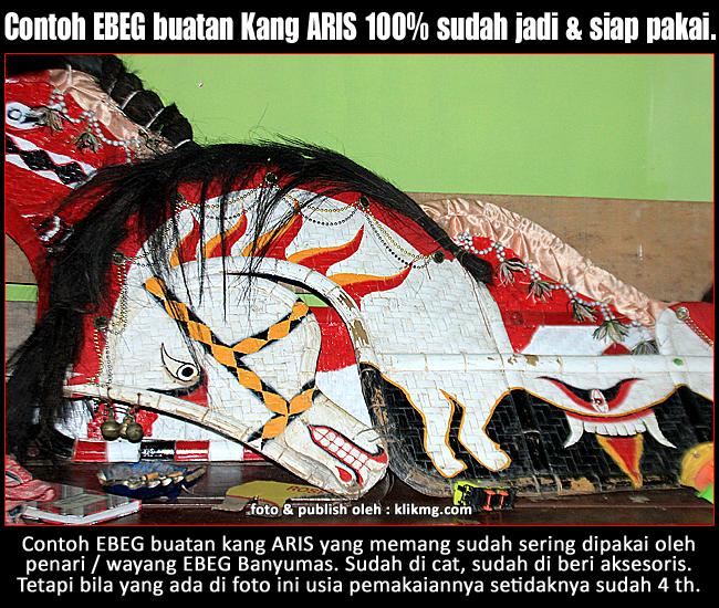 Kang ARIS Pengrajin Ebeg Banyumas & Kerajinan Bambu Purwokerto/ Banyumas