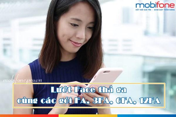 Mobifone triển khai các gói Facebook Data Plus FA, 3FA, 6FA và 12FA