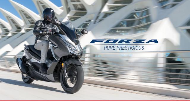 Honda Forza 250cc Pesaing Terbaru Type Matic Di Tanah Air