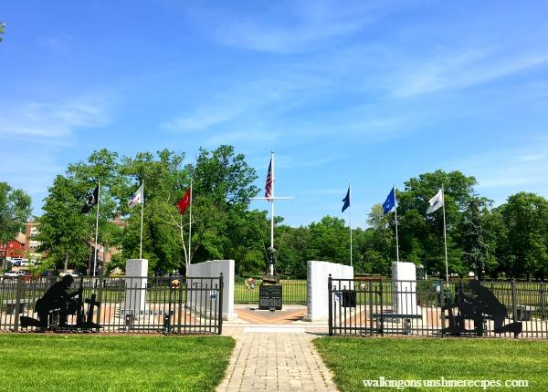 War Memorial in Palmerton PA