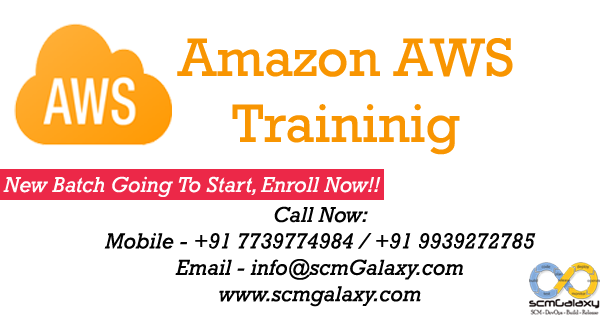 Agile And DevOps: Amazon AWS Training & Certification | Online ...