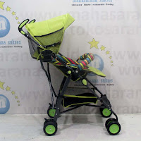 pliko winner buggy baby stroller green