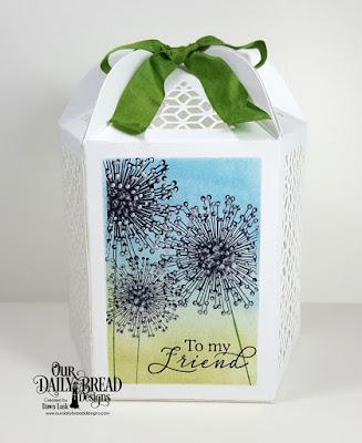 Our Daily Bread Designs Stamp Set: To My Friend, Custom Dies: Luminous Lantern
