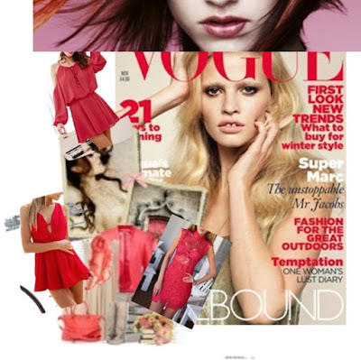 carlo fashion emagazine#red summer temptation