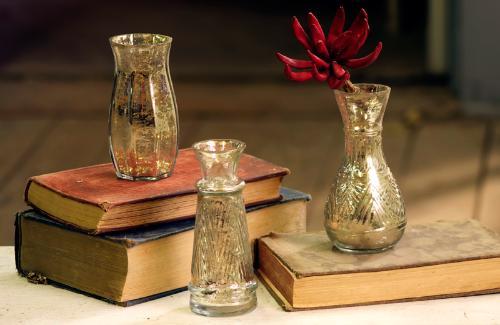 Eclectic Home Decor: Mercury Glass