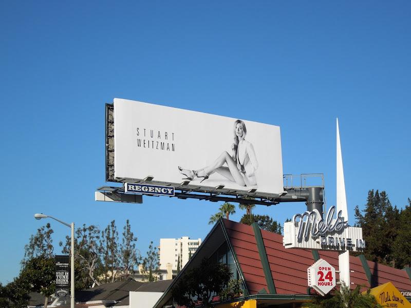 Stuart Weitzman Kate Moss Spring 2013 billboard