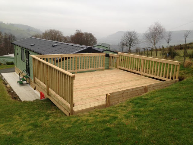 mid wales timber decking