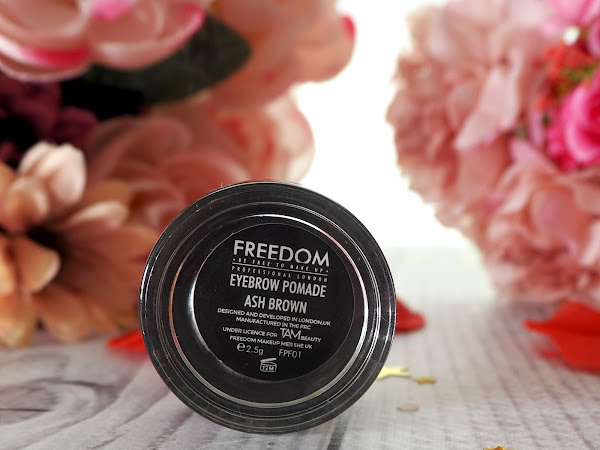 REVIEW: FREEDOM EYEBROW POMADE