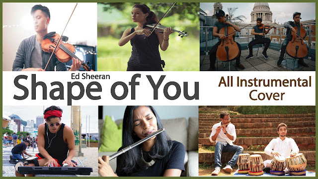 Ed Sheeran - Shape Of You || All Instrumental Cover