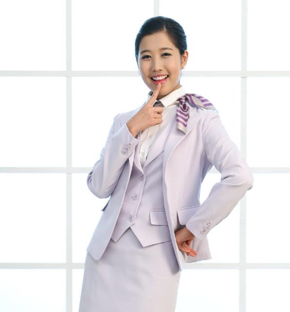 The Uniform Girls: [PIC] Korean Air Hostess uniform 1