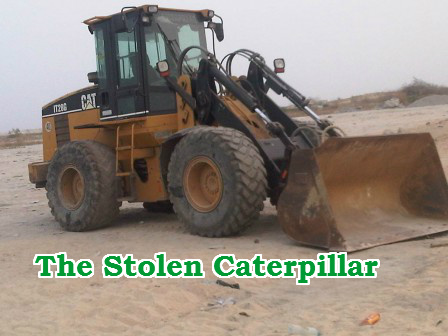 driver steals bulldozer
