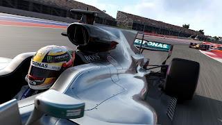 F1 Mobile Racing PS Vita Wallpaper