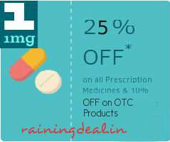 Prescription Medicines Flat 25% Off & 10% on OTC Products - 1MG