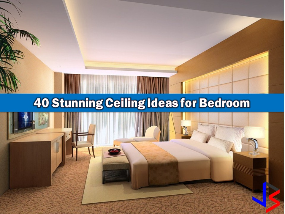 40 Stunning Ceiling Design for Master Bedroom