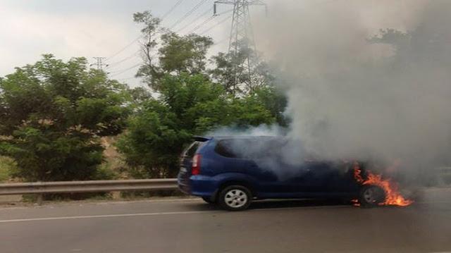 Insiden Langka Mobil Avanza Meledak, Terjadi Tanpa Indikator Terbakar