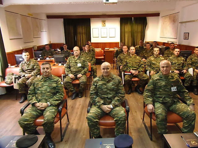 Επίσκεψη Διοικητή 1ης ΣΤΡΑΤΙΑΣ/EU-OHQ στην XXIV Τεθωρακισμένη Ταξιαρχία (ΧΧIV ΤΘΤ)