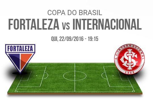 Assistir Internacional x Fortaleza ao vivo - Copa do Brasil