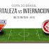 Internacional x Fortaleza ao vivo - Copa do Brasil 22/09/2016 - Jogo de volta