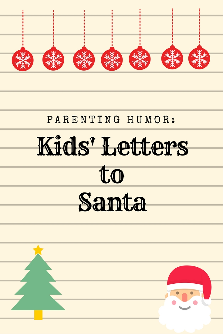 letters to santa for toddlers parenting humor letters to santa 12401