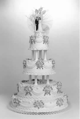 wedding cake tradition origin the celtic harp wedding traditions their 26688