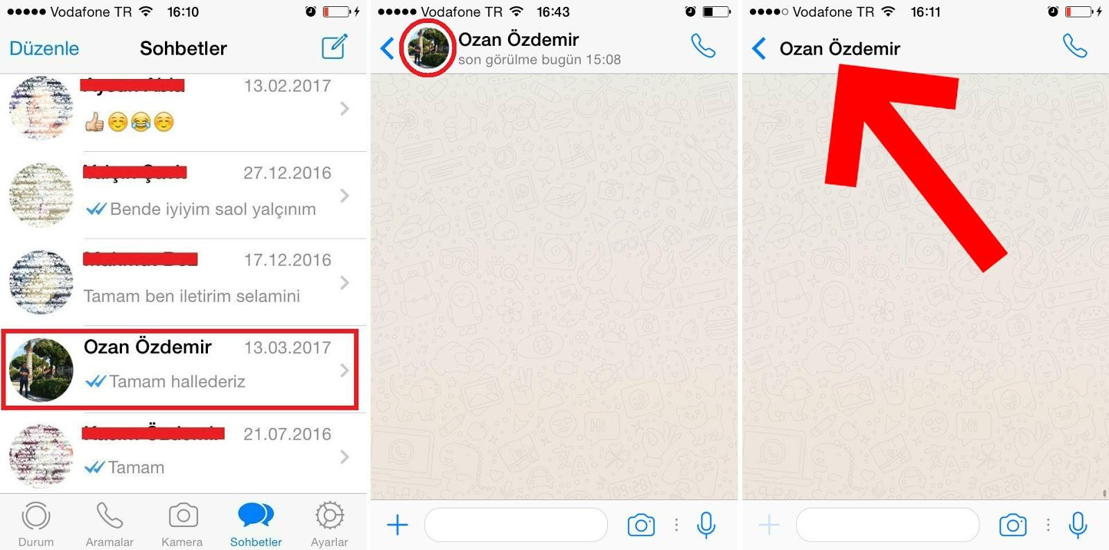 Whatsapp - Engellendiğimi Nasıl Anlarım?