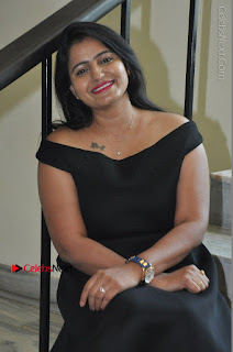 Telugu Actress Swathi Reddy Latest Stills in Black Gown  0077.JPG