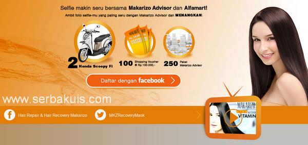 Kontes Selfie Berhadiah 2 Motor Honda Scoopy dari Makarizo