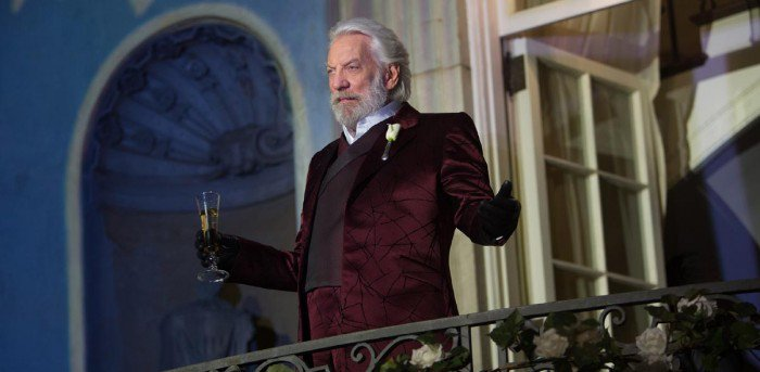 Donald Sutherland Explains the Real Meaning of The Hunger Games and Why its Message Must be Understood