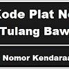 Kode Plat Nomor Kendaraan Tulang Bawang