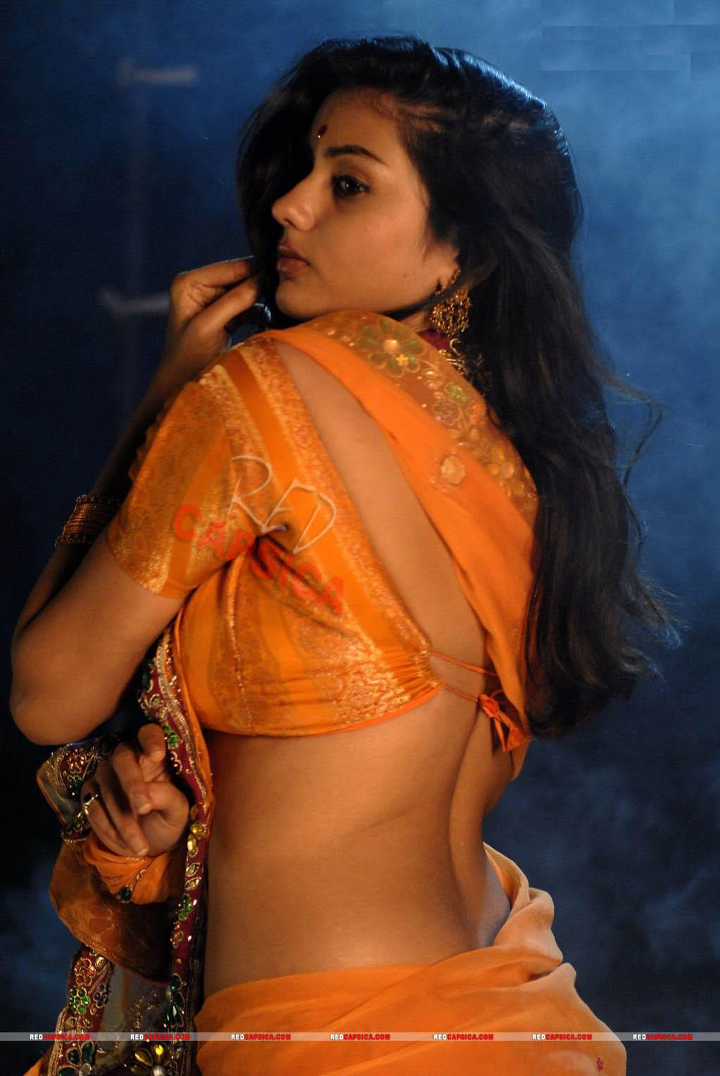 Actress Namitha back side pose