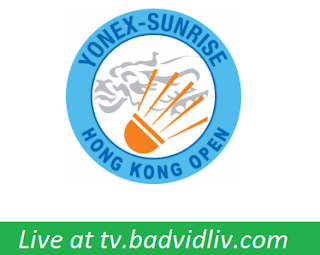 Yonex-Sunrise Hong Kong Open 2017 live streaming and videos