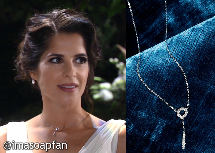 Sam Morgan's Wedding Necklace - General Hospital, Season 54, Episode 09/06/16