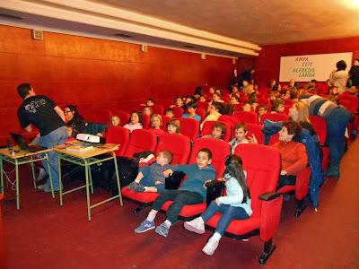 Sesión de cine en inglés