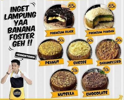 Lampung Banana Foster Oleh Oleh Lampung