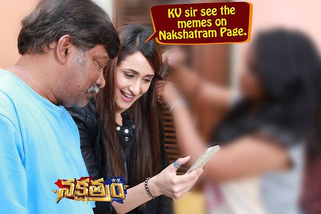 Nakshatram Telugu Movie Latest working Stills
