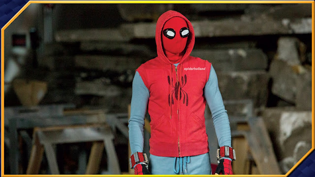 Человек-Паук 2017: стил с хом-мэйд костюмом