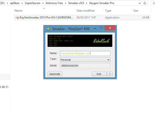 Download Keygen Smadav Pro terbaru ~ Belajar Komputer for Newbie