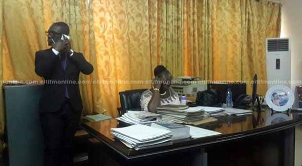 EC's Opoku Amankwah 'Fights' EOCO, Refuses To Vacate Office
