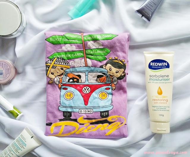 redwin sorbolene moisturiser untuk sehari-hari