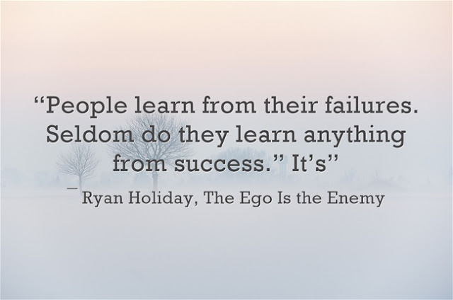 Ryan Holiday ego is the way