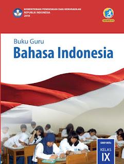 Bahasa Indonesia Buku Guru Kelas 9-IX Kurikulum 2013 Revisi 2018