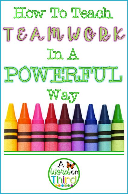 How To Teach Teamwork In A Powerful Way by A Word On Third