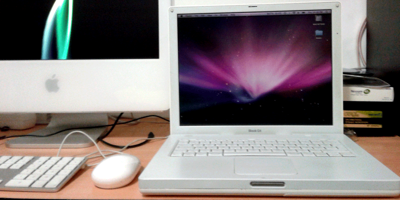 cd installation ibook g4
