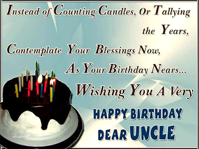 Birthday Greetings For Uncle