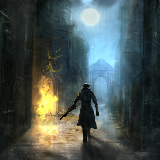 Bloodborne - Yharnam Backstreets Wallpaper Engine